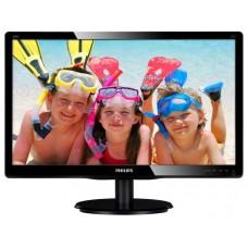 """Philips 200V4QSBR MVA 19.53"""" Nero Full HD"""