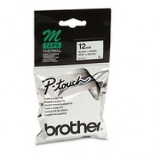 Brother MK-231B Nero su bianco nastro per etichettatrice