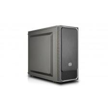 Cooler Master MasterBox E500L Midi-Tower Nero, Argento vane portacomputer