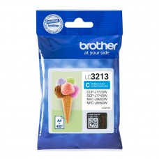 Brother LC-3213C 400pagine Ciano cartuccia d'inchiostro