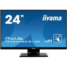 "iiyama ProLite T2454MSC-B1AG monitor touch screen 60,5 cm (23.8"") 1920 x 1080 Pixel Nero Multi-touch Multi utente"