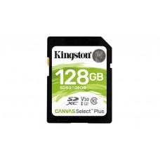 Kingston Technology Canvas Select Plus memoria flash 128 GB SDXC Classe 10 UHS-I